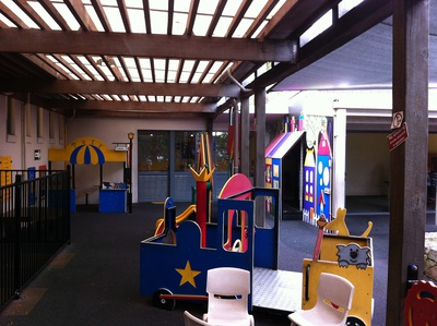 The toddler area on the playcentre