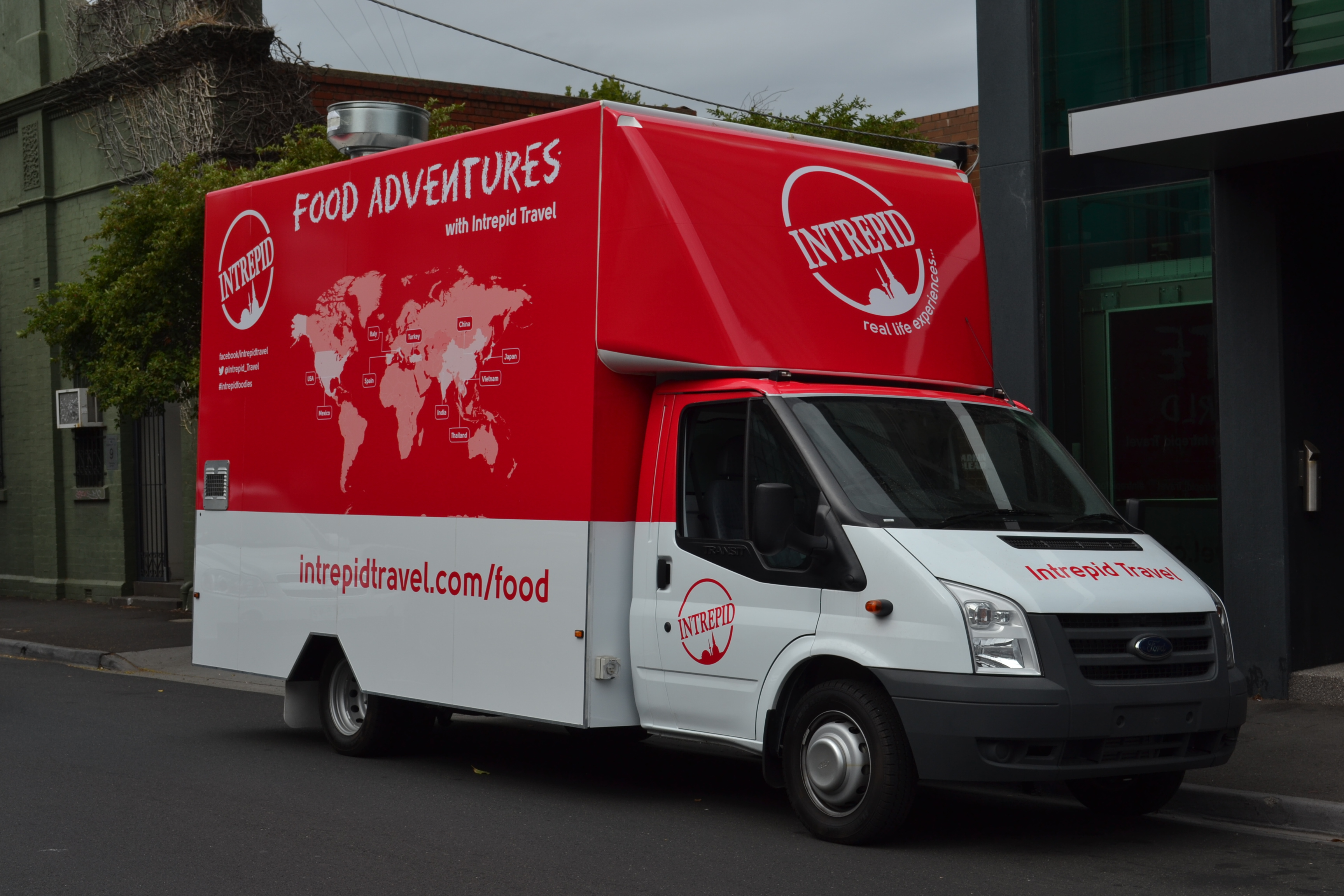 The Intrepid Travel Food Truck Melbourne - Melbourne - by