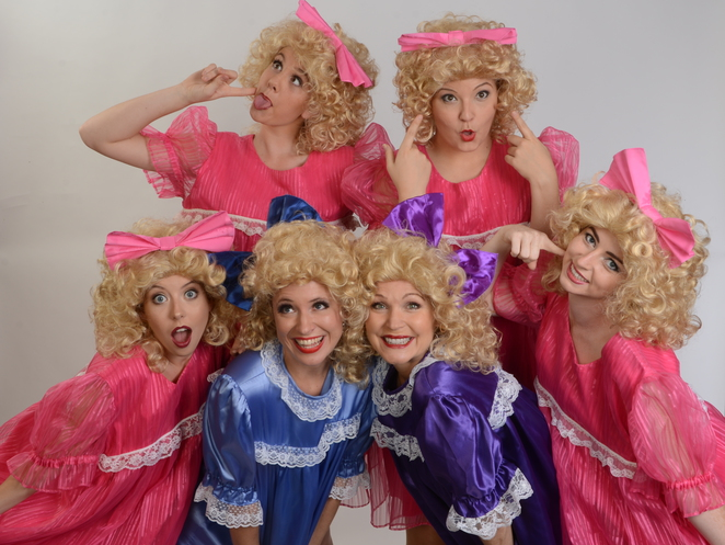 Jerry's Girls, Gold Coast Little Theatre, Kate Peters, Kirri Adams, Elisa James, Katrina Lardner, Deborah Leigh-Russell, Becky Morgan, Jerry Herman, Hello Dolly, Mame, Mack & Mabel, Milk & Honey, La Cage Aux Folles, Broadway