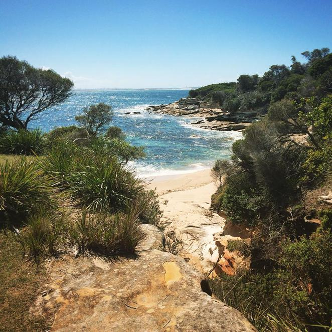 little, jibbon, loop, track, trail, walk, royal national park, port hacking, bundeena, beach,