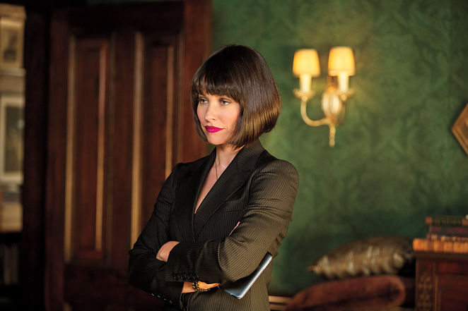 Hank Pym's daughter Hope van Dyne played by Evangeline Lily