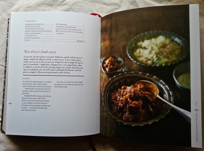 Matthew Evans, Real Food Companion, Gourmet Farmer, Taxi Driver's lamb curry