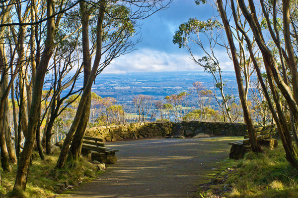 mount macedon, lookout, view, macedon ranges,