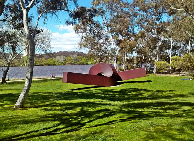 national gallery of australia sculpture garden, canberra, best picnic spots, ACT, families, school holidays,