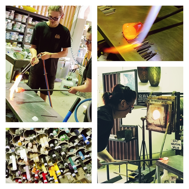 gordon,studio,glass,glassblowers,best,things,to,do,mornington,mt martha,redhill,red,hill