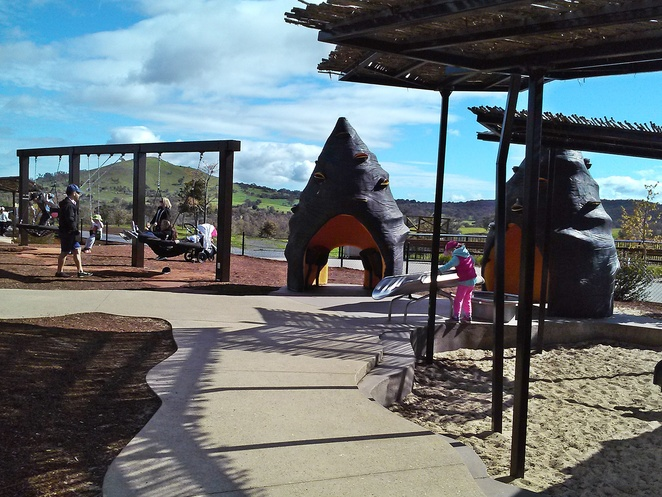 pod playground, canberra, park, playgrounds, young kids, toddlers, ACT, smaller kids, national arboretum,