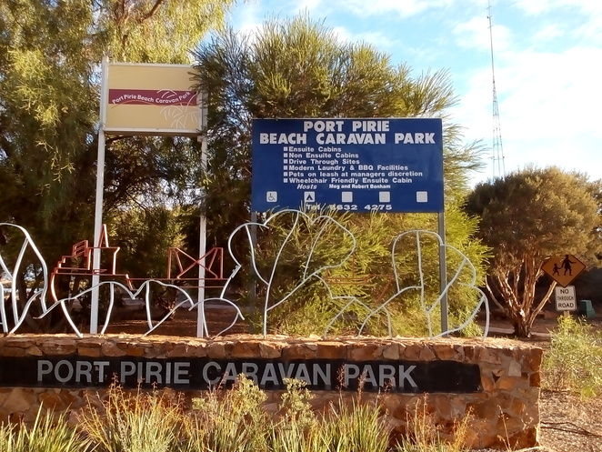 Port Pirie Caravan park, caravan and camping, travel, tourist parks, South Australia, beachside camping grounds, beaches, waterways