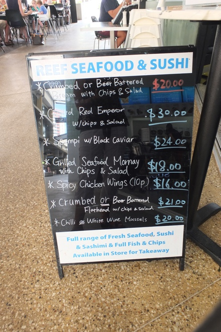 Reef Seafood and Sushi, Newstead, contemporary, eighty seated patrons, Japanese inspired seafood dishes, Japanese Chefs, Sushi, Sashimi, fully-licenced bar, craft beers on tap, wines, champagne, Gasworks, dine-in, take-away, free two hour parking