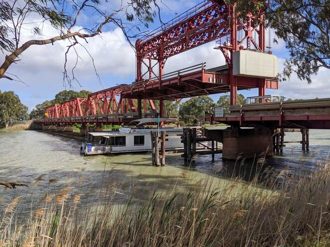 renmark, paringa, bridge, murray river, riverfront, riverland, south australia, things to do