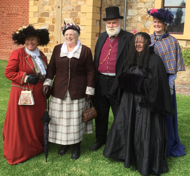 sa history festival, ghosts, architecture, lectures, old adelaide gaol, blacksmiths, butter churners, spinning