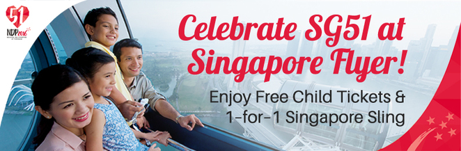 SG51, NDP2016, NDP51, Singapore National Day, singapore flyer, Singapore sling, marina bay, ferris wheel