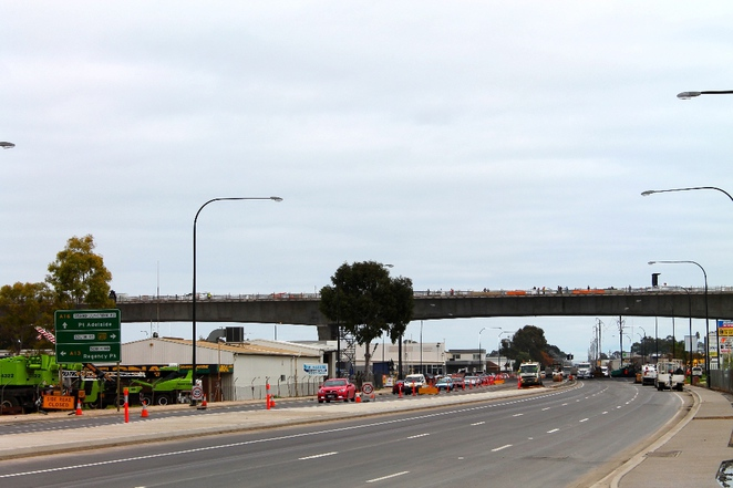 south road superway, superway, south australia, adelaide, construction, segments, roadway, road, traffic, grand junction