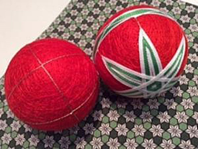 Temari,balls,for,Christmas