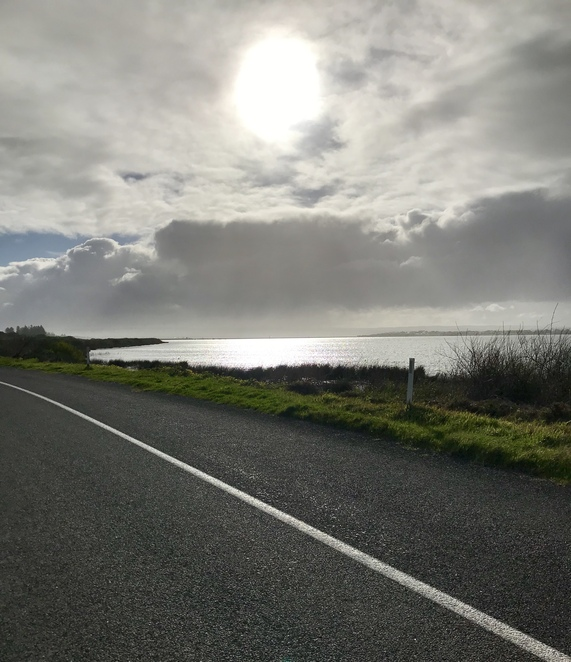 The road between the Barrages and Beacon 19