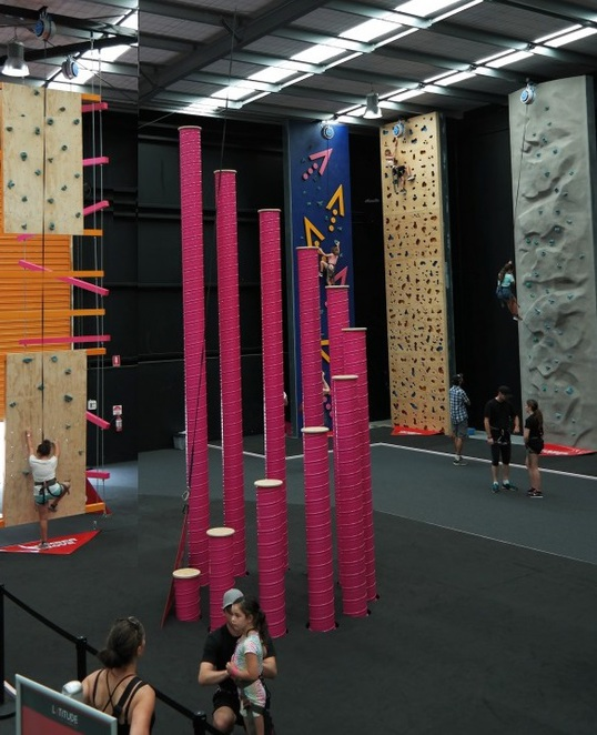 Trampoline park,Indoor Adventure Park,Abseiling,Dodgeball,Slack Line,Battle Beam,trampolining,dodge ball,climbing wall Melbourne,indoor basketball,Latitude park melbourne