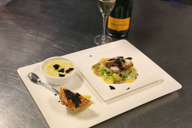 truffle melbourne dishes by philippe mouchel