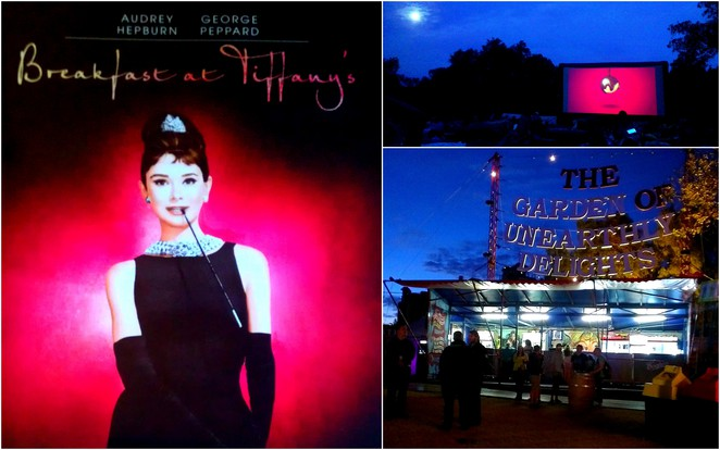 Valentine's Day, Moonlight Cinema, Breakfast at Tiffany's, Garden of Unearthly Delights, Adelaide Fringe Festival
