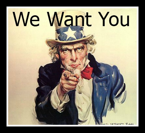 we want you, uncle sam recruiting poster