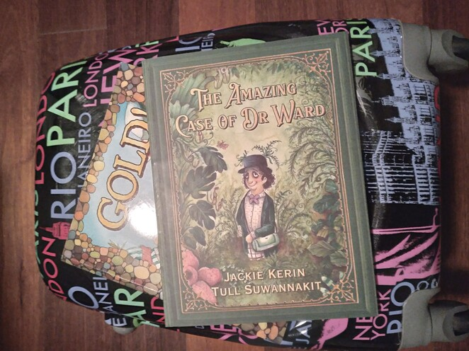 jackie kerin, amazing case dr ward, gold, may cross, picture book
