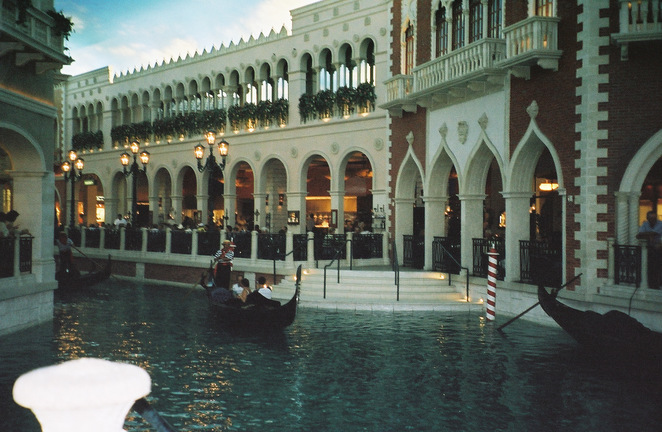 Canals at the Venetian