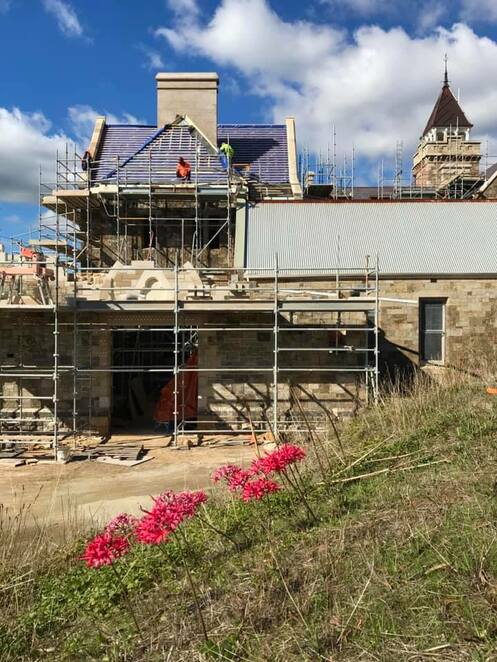 Restoration of Marble Hill