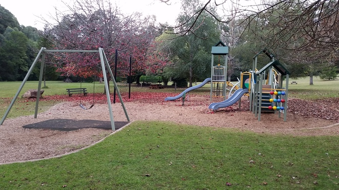 A winter day trip; playground, barbeques and walks.