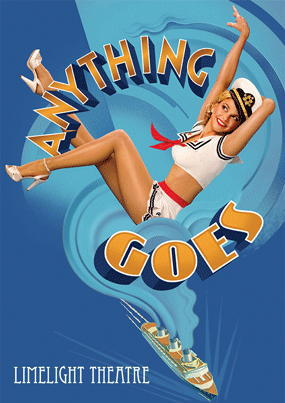 Anything Goes, Cole Porter, PG Wodehouse, Terry Pirlo, Limelight Theatre, Wanneroo
