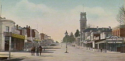 Baker Street In Castlemaine 1908 - Wiki Released