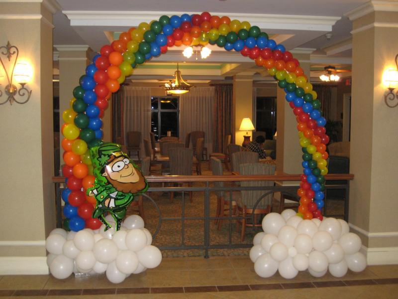 5 things to do on st patrick 39 s day everywhere for How to make a rainbow arch