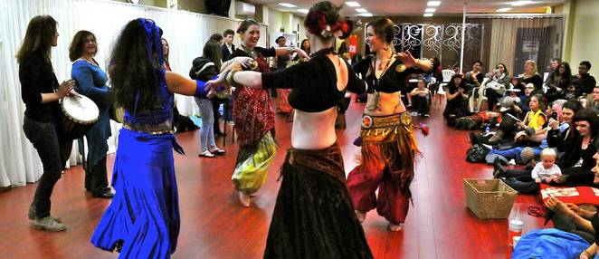 belly dancing, ameras palace, marrickville