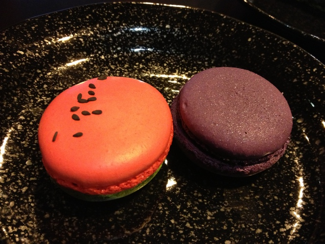 Blackflower Patisserie macarons