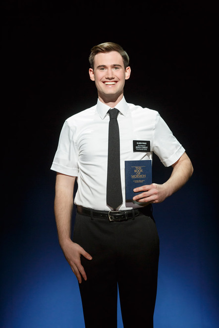 book of mormon, princess theatre, Ryan Bondy, AJ Holmes, Rowan Witt