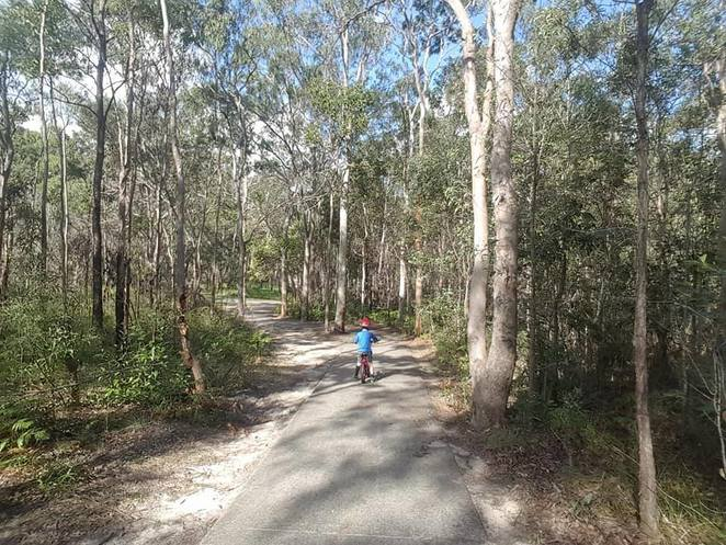 Boronia Bushland Reserve, walking paths, playground, cycling, picnic, Logan