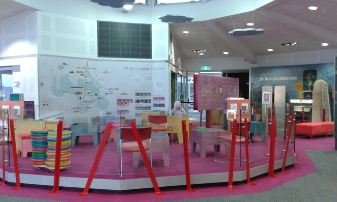 Brick By Brick, National Capital Exhibition, Canberra, school holidays, kids activities, pre school