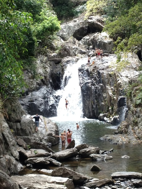 Crystal Cascades, Cairns, Cairns waterfalls