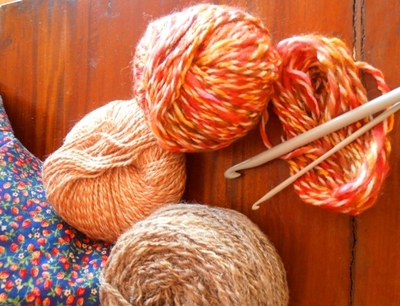 Crochet is a simple and very affordable hobby.