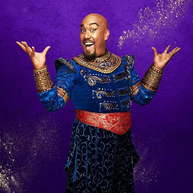 disney's Aladdin, the musical, Adelaide, subshri kandiah, ainsley Melham, gareth Jacobs, a whole new world, friend like me, Arabian nights, Adelaide festival theatre