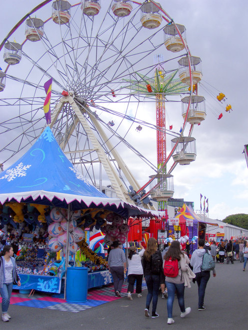 At the Ekka Side Show