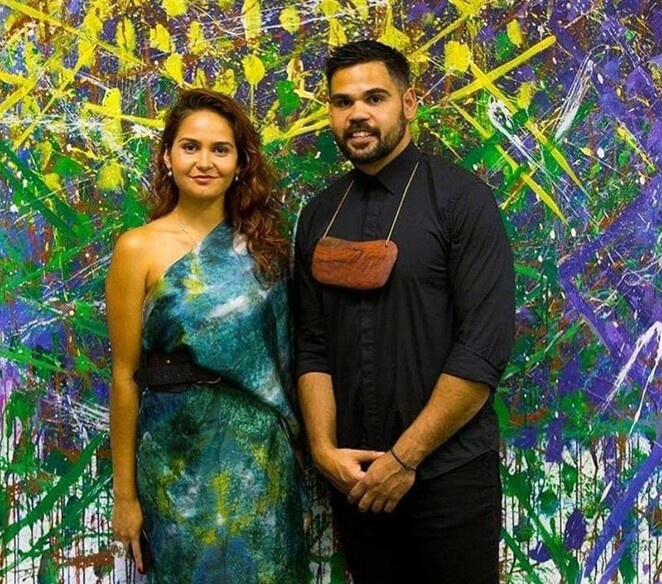 Elements Exhibition Off the Kerb Gallery NAIDOC Week 2019