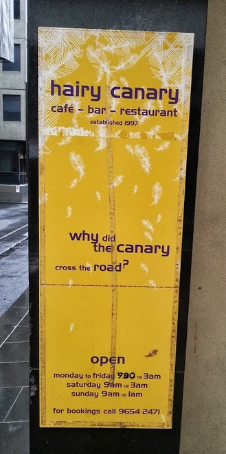 Entrance to the Hairy Canary
