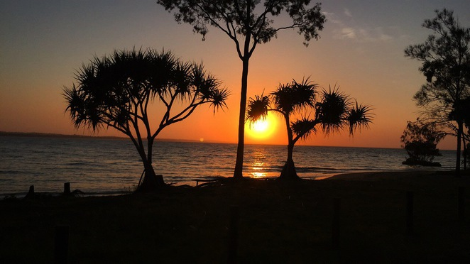 Gatakers Bay, Hervey Bay, Point Vernon, Best sunsets, Sightseeing,