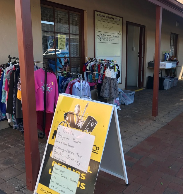 Goolwa's 'Bargain Barn' Op Shop