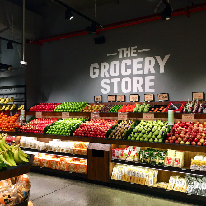 grocery, grocer, the grocery store