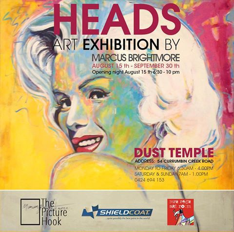 HEADS Art Exhibition by Marcus Brightmore