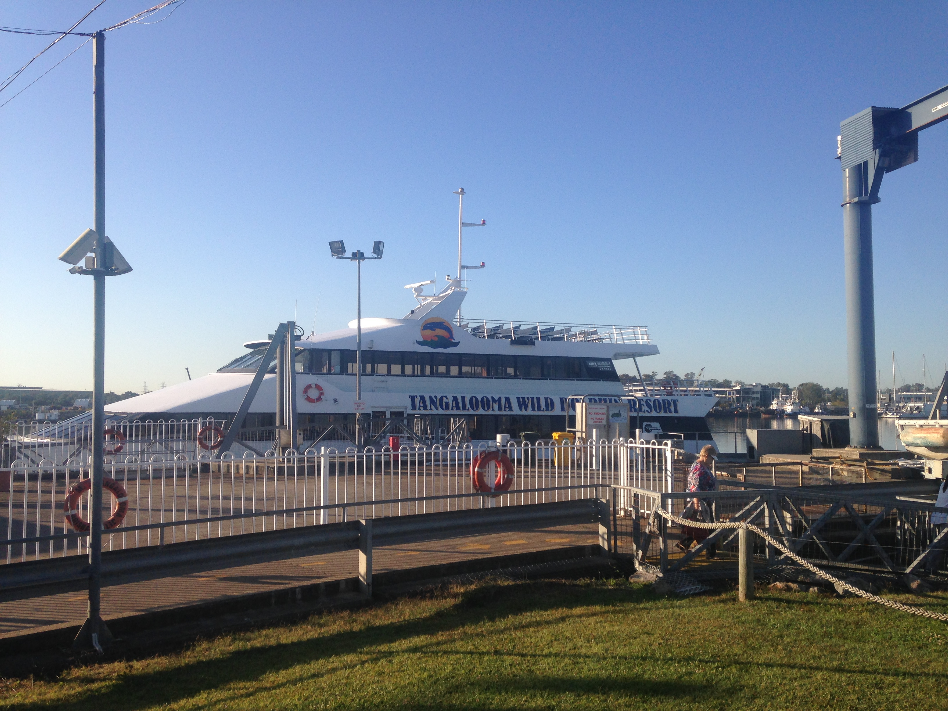how to get to tangalooma island from brisbane