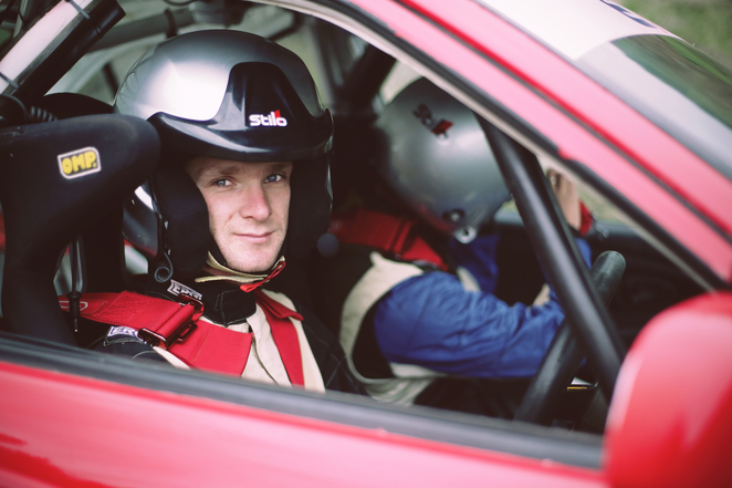 Guy Tyler has a campaign to participate in the 10th round of the World Rally Championship in September - photo by Elliot Dowie