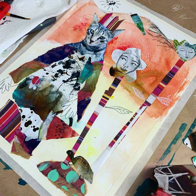 jump into abstract painting with tracy verdugo 220, community events, fun things to do, artists, painting pictures, artwork, creative skills, learn how to paint abstract, tracy verdugo's art, story painting, the magic of story, imagination run free, spark your imagination, hobbies, infuse your art