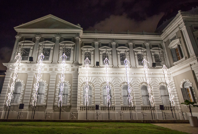 keyframes, Singapore night festival 2016, National Museum of Singapore, Bras Basah Bugis, SNF, Night festival 2016, national museum singapore, bras basah bugis, groupe laps france