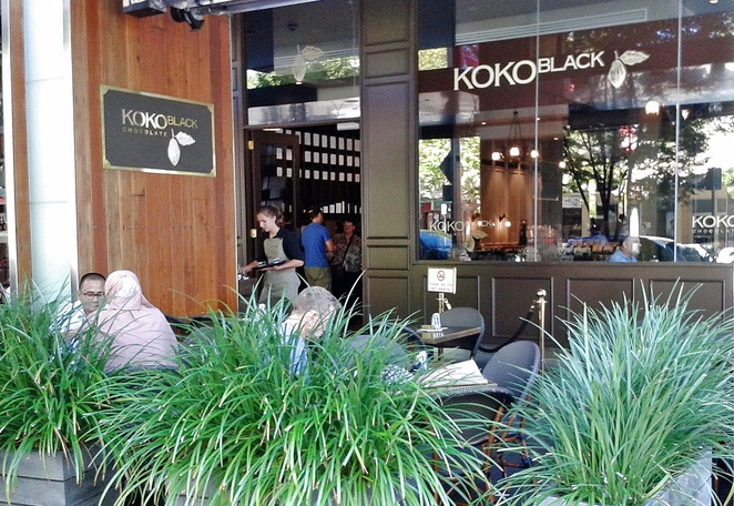 koko black, canberra, ACT, chocolate cafes, chocolate tour, ACT, dessert, cafes, bunda street, canberra CBD,