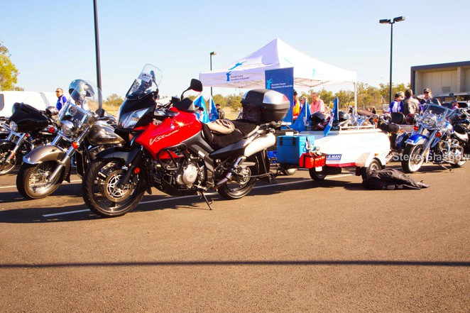 Long Ride, Prostate cancer, everyday Heroes, Amberley Airforce Base